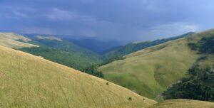 Thunderstorm over Neamtu